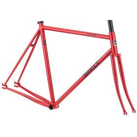 Surly Steamroller Cadre de vélo 700C, shag carpet orange